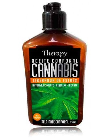 ACEITE CORPORAL CANNABIS 250ML