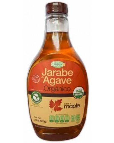 JARABE DE AGAVE CON MAPLE