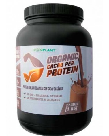 ORGANIC CACAO PEA PROTEIN