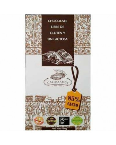BARRA CHOCOLATE 85% CACAO...
